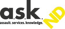 Logo for the ASK North Dakota site