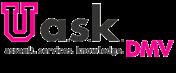 Logo for the UASK DMV site